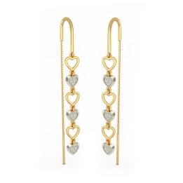 The Joyous Heart Drop Earrings