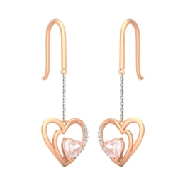 The Heart To Heart Drop Earrings