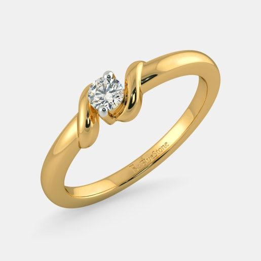 Buy 150 Latest Engagement Ring Designs Online in India 2017