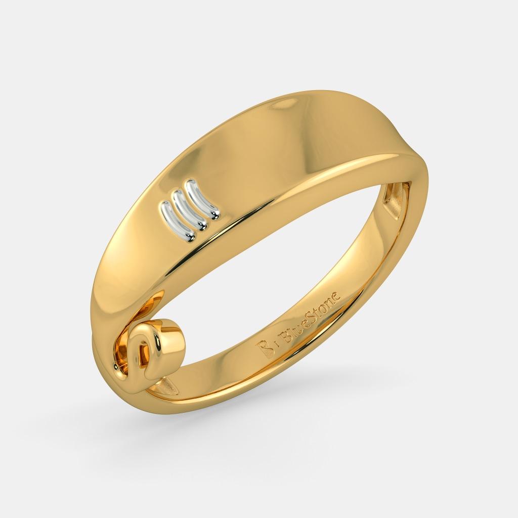 buy 100+ men's gold ring designs online in india 2018 | bluestone