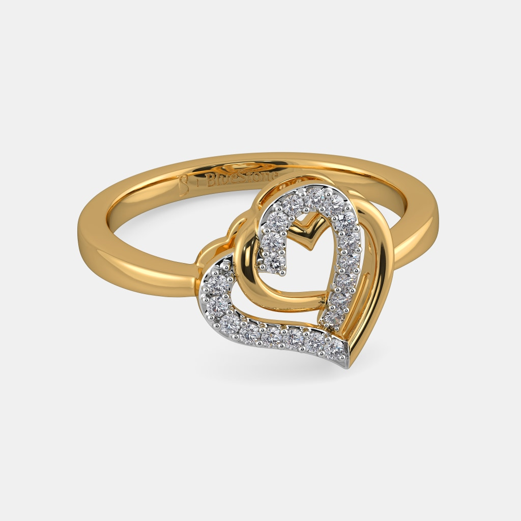 The Entwined In Love Ring | BlueStone.com