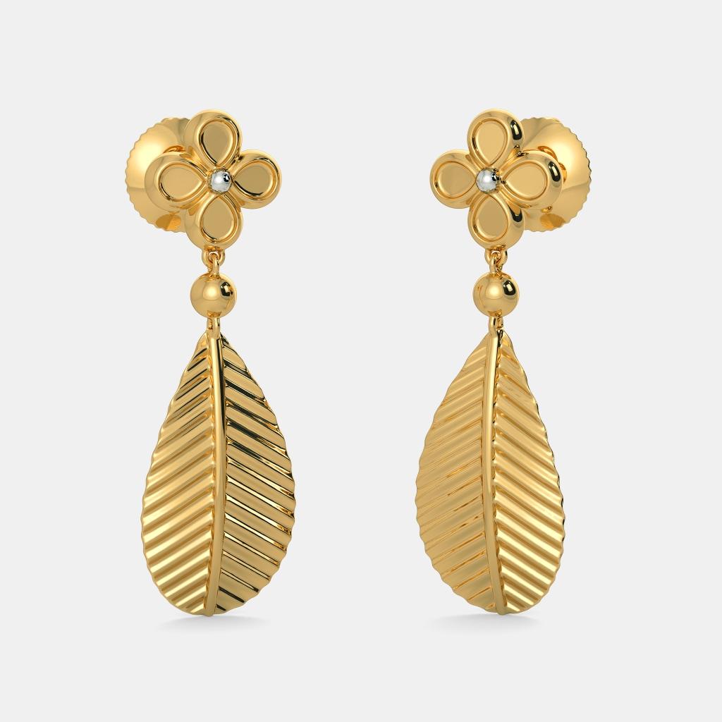The Beech Leaf Earrings