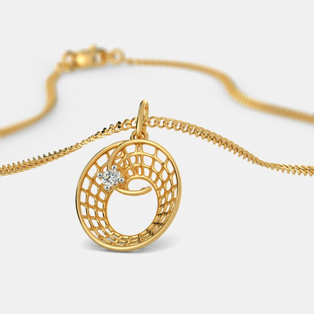 The outstanding o pendant bluestone the outstanding o pendant aloadofball Choice Image