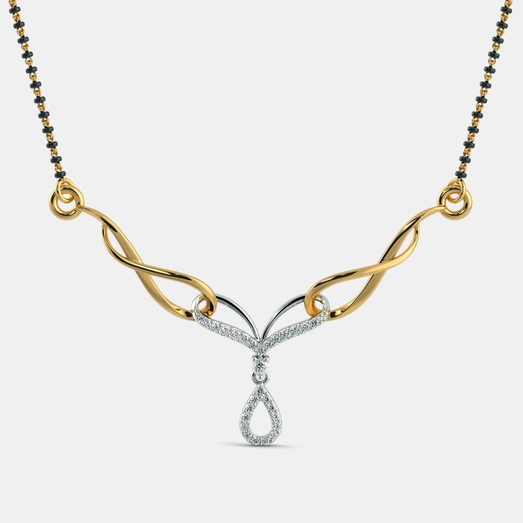 The Suchika Mangalsutra | BlueStone.com