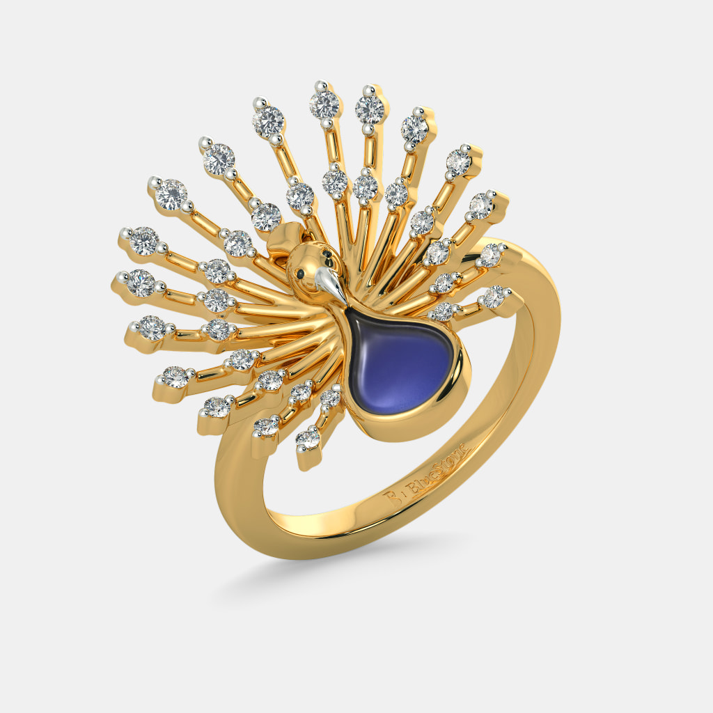 Cocktail Rings Gold India