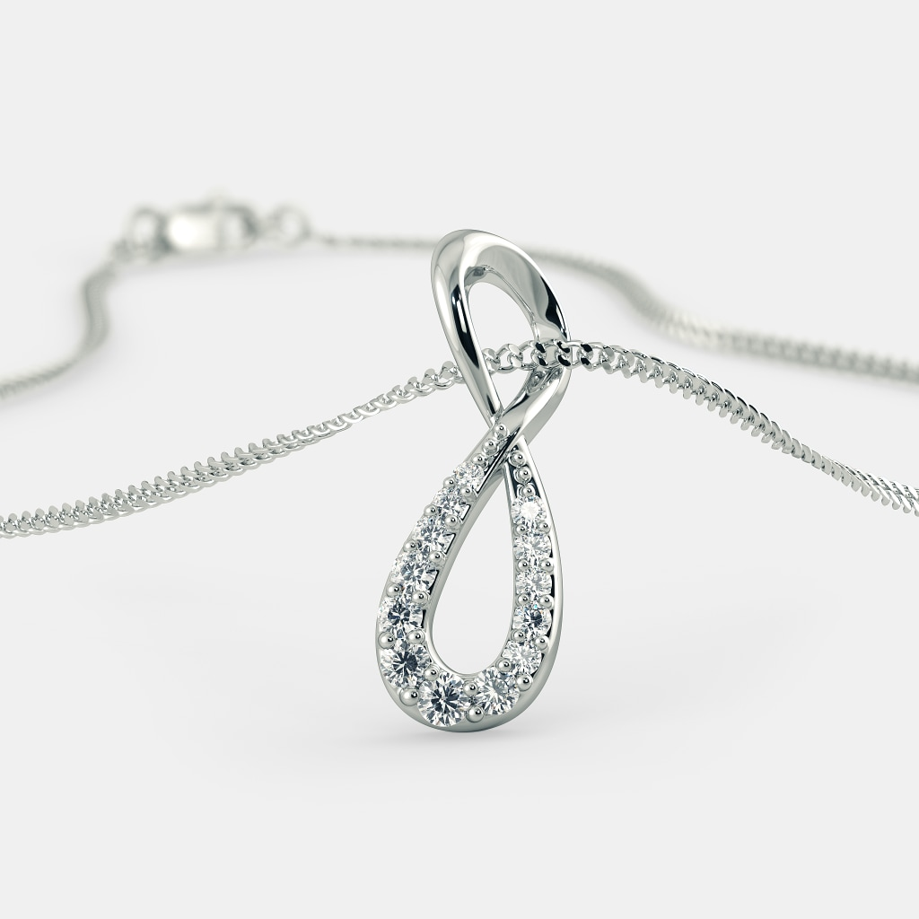 The infinity pendant bluestone the infinity pendant aloadofball Gallery