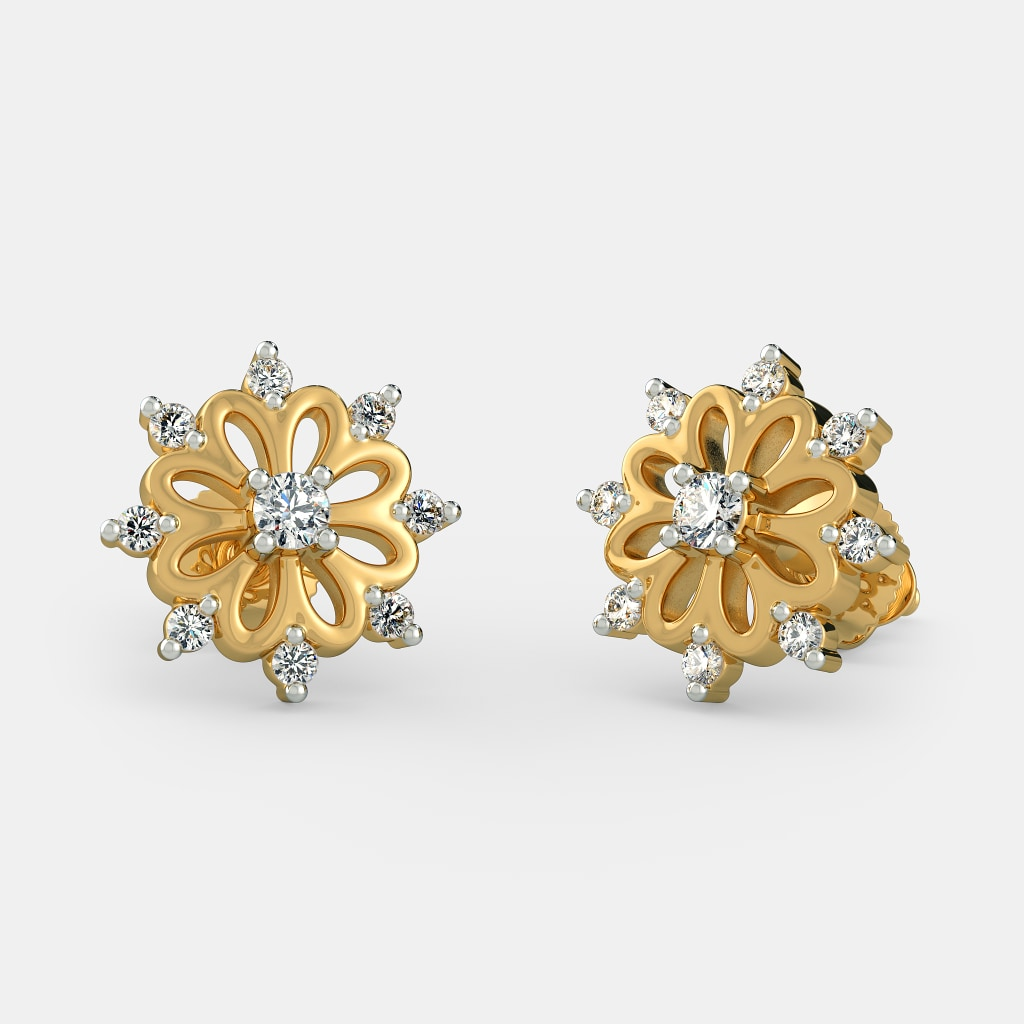Design Of Small Gold Earrings - Best Shoes 2017