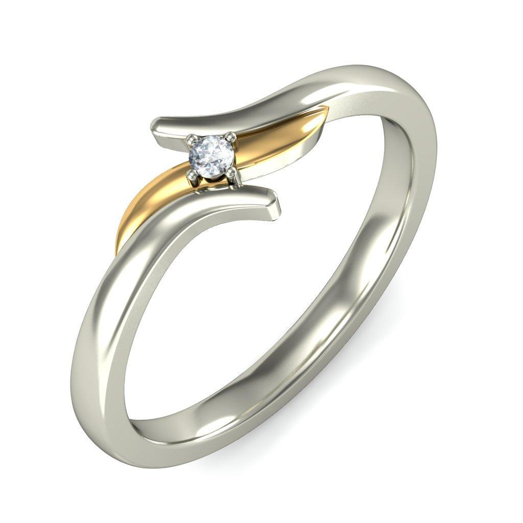 Gold vs Platinum Cost. While gold and platinum are similar in price per gram, platinum is more dense and so more of it is required to make a ring.