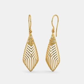 The Deco Dew Drop Earrings