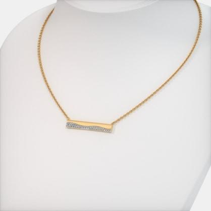 The Gwendolyn Bar Necklace