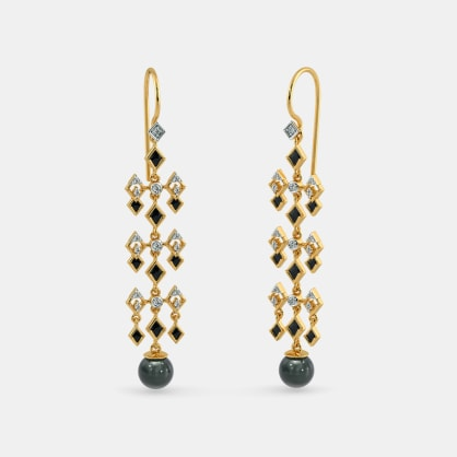The Beguiling Long Drop Earrings