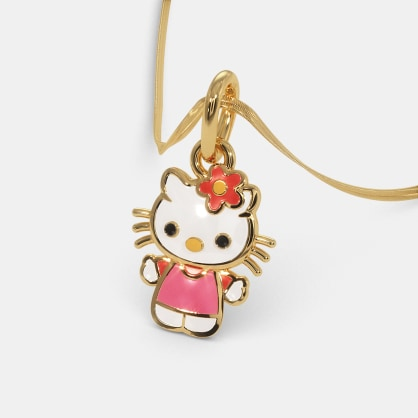 The Kitty Pendant For Kids