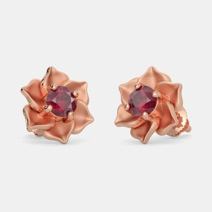 The Summer Rose Stud Earrings