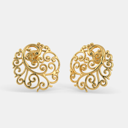 The Peacock Vivacity Stud Earrings