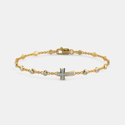 The Deborah Cross Bracelet