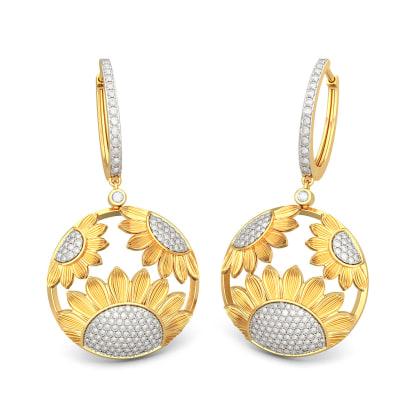 The Dainty Sunflower Earrings