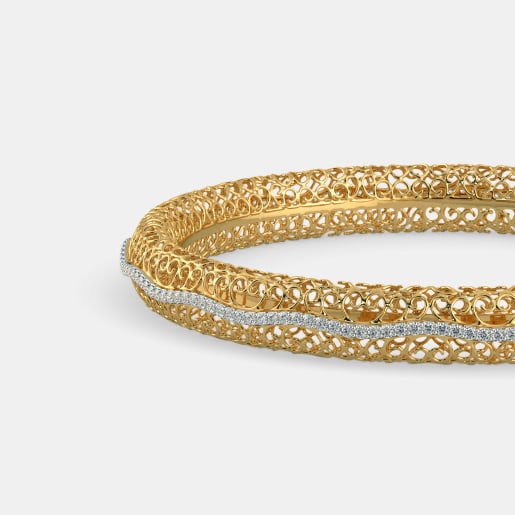 The Sheila Lattice Bangle