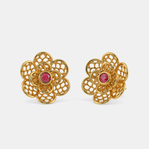 The Camilla Lattice Stud Earrings