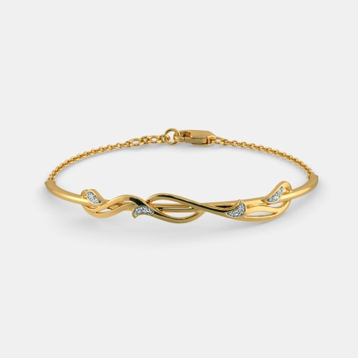 bangle kada filigree shape gold bangles bracelet small square