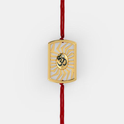 The Om Sutra Rakhi Pendant