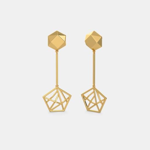 The Aeonic Axis Earrings