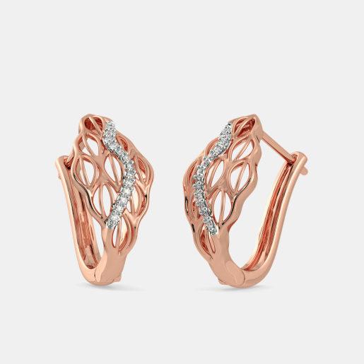 The Carya Hoop Earrings