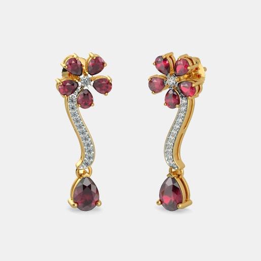 The Suman Sundari Drop Earrings