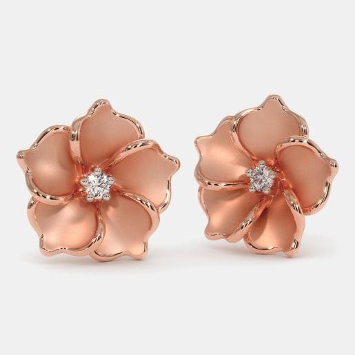 The Rare Rose Earrings
