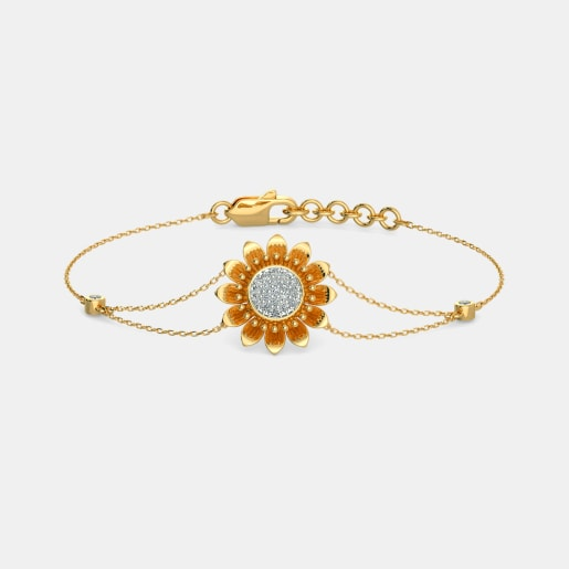 The Heavenly Sunflower Bracelet