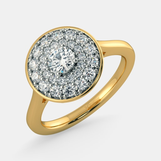 Diamond PreSet Solitaire Ring In Yellow Gold (5.18 Gram) With Diamonds (0.336 Ct) And Solitaire (0.25 Ct)