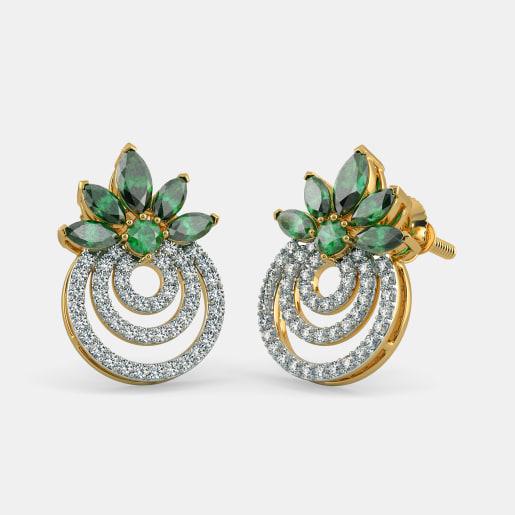 The Blooming Circles Earrings