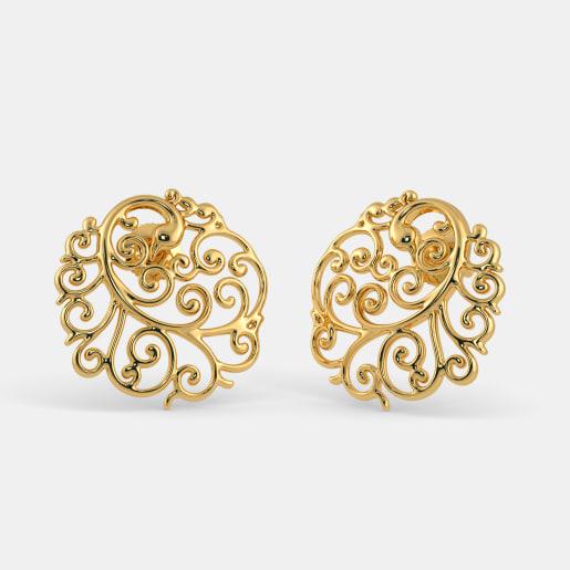 The Peacock Vivacity Stud Earrings