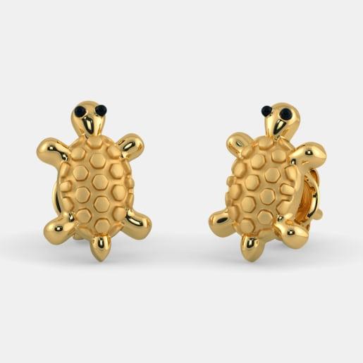 The Tortoise Earrings for Kids
