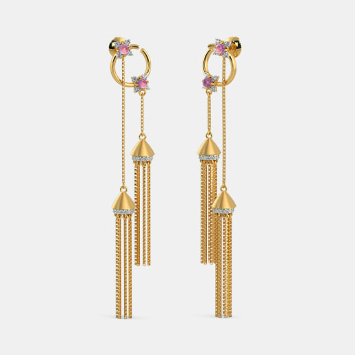 The Twin Tassel Earrings