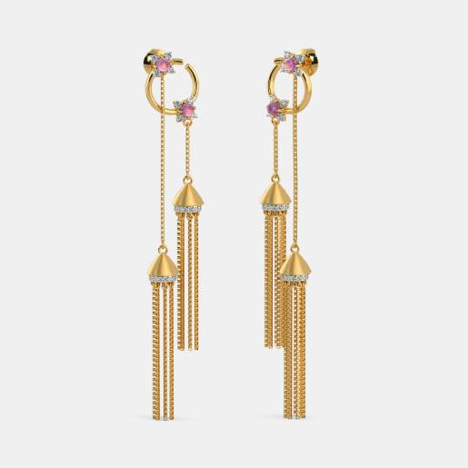 The Twin Tassel Earrings