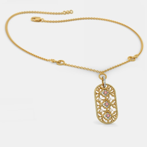 The Ornate Oblong Necklace