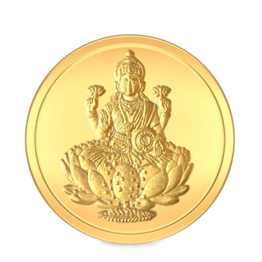 20 gram 24 KT Lakshmi Gold Coin