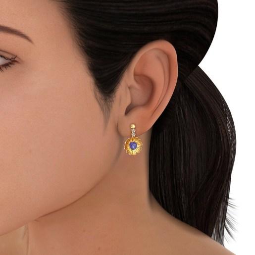 The Erica Drop Earrings