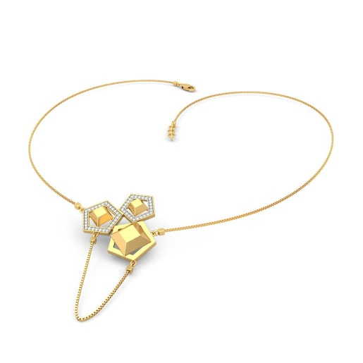 The Tripartite Axis Necklace
