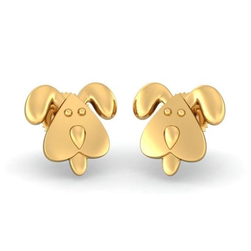 The Faithful Doggy Earrings For Kids