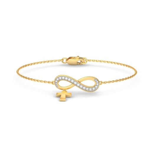 The Ariel Cross Bracelet