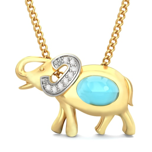 The Mighty Elephant Pendant For Kids