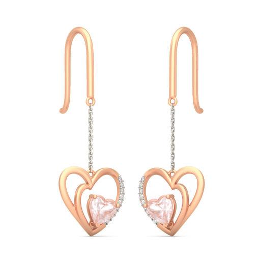 The Heart To Heart Drop Earrings