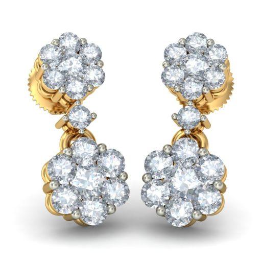 The Chanchal Pushp Earrings